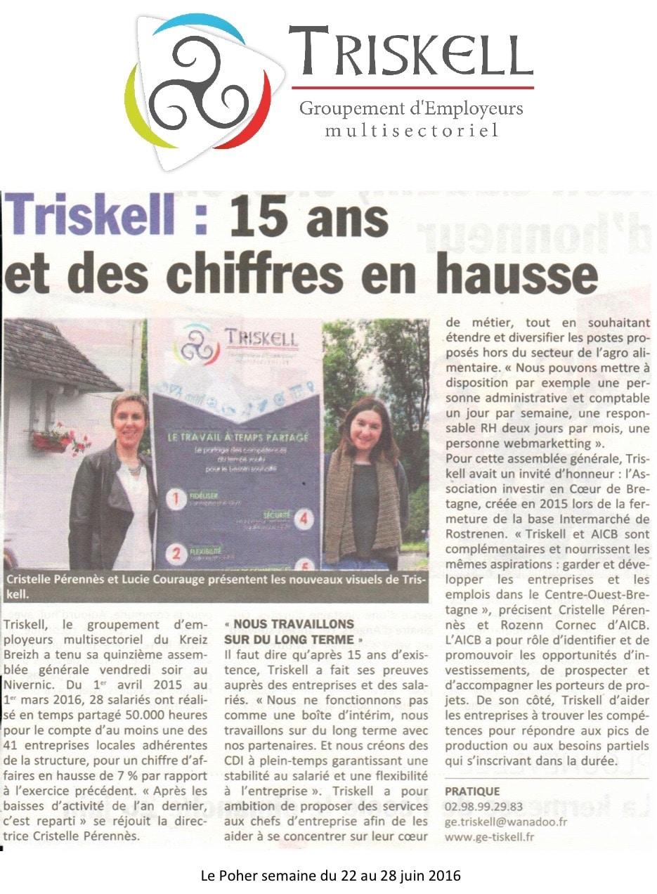 Communiqué de presse - Triskell - Le Poher